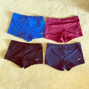 Nike Volleyball Spandex Shorts